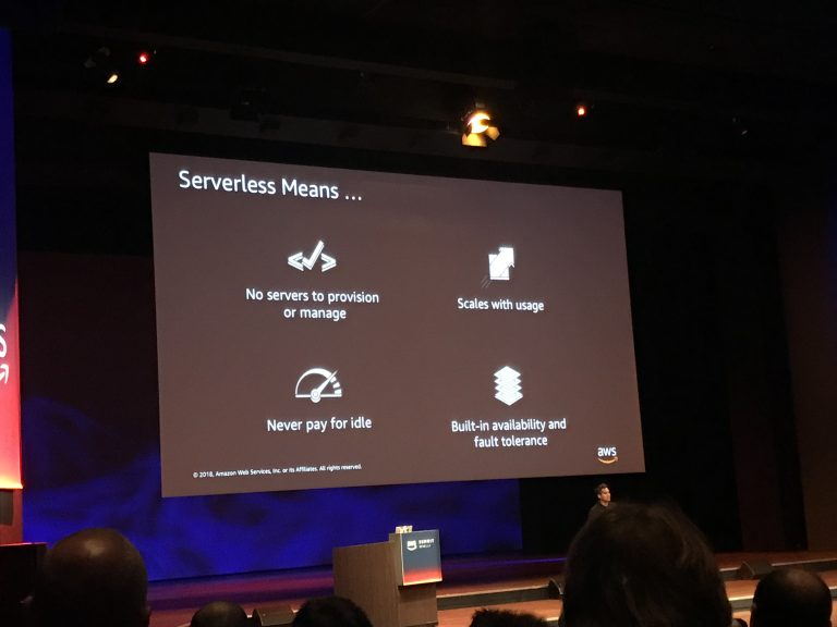 Looking back on AWS Summit Benelux 2018